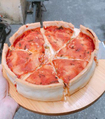 pizza nhân nhồi hải phòng